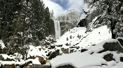 Vernal Falls, Yosemite Stock Footage