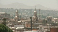 City Of Arequipa, Peru Stock Footage