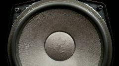 Speaker hifi audio sound technology Stock Footage