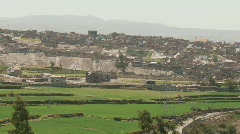 Landscape Andes, Arequipa, Peru Stock Footage