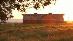 Sunset Barn 2 - stock footage