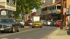 Lahaina, Front street Stock Footage