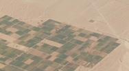 Flight Over Desert, South America Stock Footage