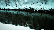 Stock Video Footage of jHD - Winter - Snow At A Brook 00053
