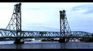 Stock Video Footage of Draw Bridge