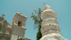 Church, Arequipa, Peru Stock Footage