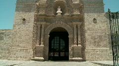 Church, Arequipa, Peru - stock footage