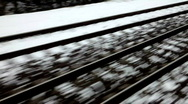 Stock Video Footage of rails