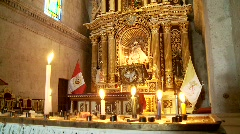 Church In Abbey, South America Stock Footage