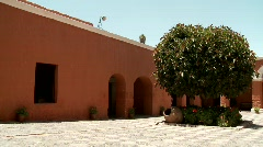 Abbey: Santa Catalina, Arequipa Stock Footage