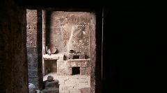 Kitchen In Abbey (Santa Catalina) Stock Footage