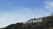 Hollywood Sign Stock Footage