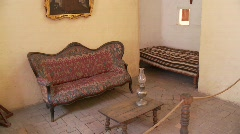 Room In Abbey (Santa Catalina) - stock footage
