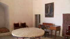 Stock Video Footage of Room In Abbey (Santa Catalina)