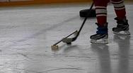 Hockey training Stock Footage