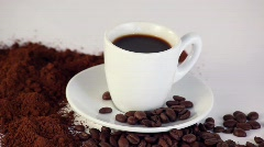 Coffee CC HDV - stock footage