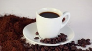 Coffee CC HDV Stock Footage