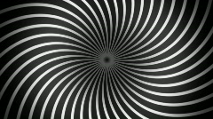 hypno spiral loops (3 clips) - stock footage
