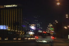 Las Vegas Strip in 30 Seconds Stock Footage