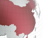 Zoom to China and then to Hong-Kong, NTSC Stock Footage