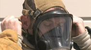 Stock Video Footage of Firefighters Series One - 1 of 7