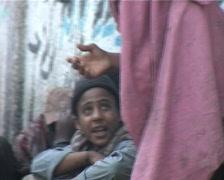 Heroin Addicts on Streets of Karachi, Pakistan - stock footage