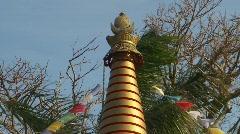 Religion and faith, Lha bab Stupa, Buddhist temple, Maui, #2 Stock Footage