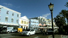 Hamilton, The Capital Of Bermuda Stock Footage