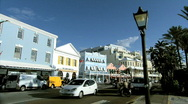 Stock Video Footage of Hamilton, The Capital Of Bermuda
