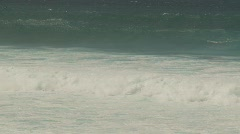 Huge 30' storm waves, northshore Maui, #3 Stock Footage