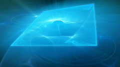 Light blue motion background d4131E Stock Footage
