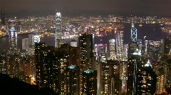 Hong Kong - The Peak Stock Footage