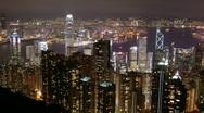 Hong Kong - The Peak Stock Footage