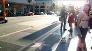 Stock Video Footage of Hollywood Boulevard timelapse