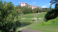 The Southampton Princess Golf Course Stock Footage
