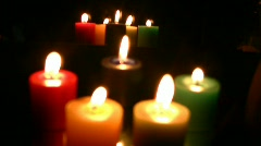 Candle  Full HD 1080p - stock footage