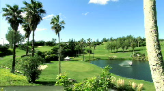 The Fairmont Southampton Princess Golf Course Stock Footage