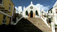 Stock Video Footage of St Peter's Church in Bermuda