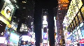 Tourists Walking in Times Square at Night HD Footage