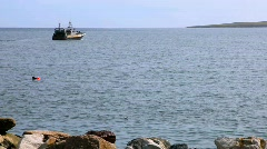 Fishing Trawler 3 Stock Footage
