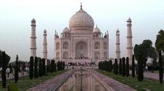 Taj Mahal Mausoleum, Agra, Uttar Pradesh ( State ) India, Asia Stock Footage