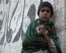 Drug Addict Injecting Heroin on Streets of Karachi, Pakistan - stock footage