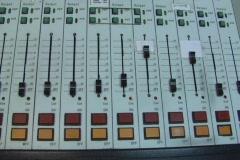 Radio station console Stock Footage