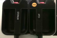 EKG paddles - NTSC - stock footage