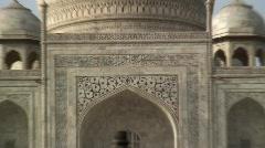 Taj Mahal, Agra, Uttar Pradesh ( State ) India, Asia Stock Footage