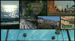Hollywood montage - HD - stock footage