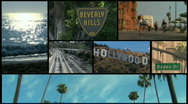 Hollywood montage - HD Stock Footage