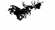 Stock Video Footage of Ink Blot