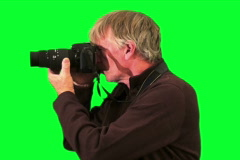 Photographer  V1 - NTSC Stock Footage