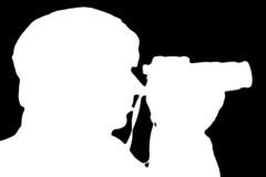Photographer sillhouette V4 - NTSC Stock Footage